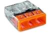 Steekklem Wago 3x 0,5 - 2,5mm 2273-203